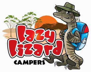 Lazy Lizard Campers Logo